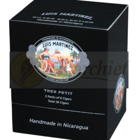 Luis Martinez Cigars Silver Selection Tres Petit Box of 30 Cigars