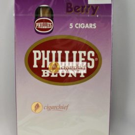 Phillies Blunts Cigars Berry Pack of 5 Cigars