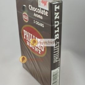 Phillies Blunts Cigars Chocolate Pack of 5 Cigars Side