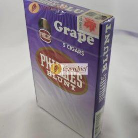 Phillies Blunts Cigars Grape Pack of 5 Cigars