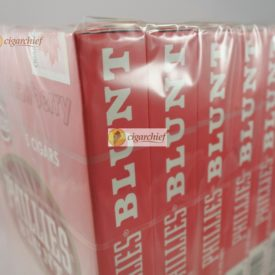 Phillies Blunts Cigars Strawberry Box of 50 Cigars Side