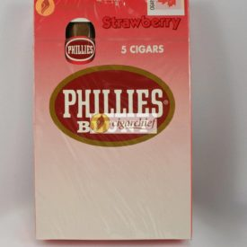 Phillies Blunts Cigars Strawberry Pack of 5 Cigars