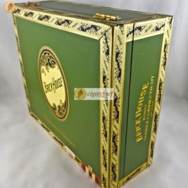 Brick House Cigars Double Connecticut Toro Box of 25 Cigars Closed