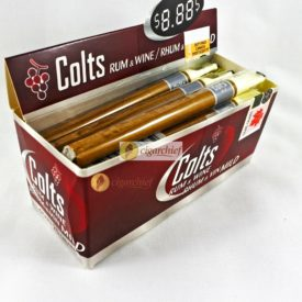 Colts Cigars Rum & Wine Mild Box of 25 Small Cigars Angle
