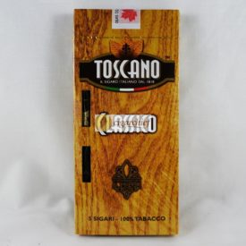 Toscano Cigars Classico Pack of 5 Cigars